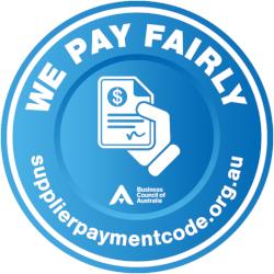 We pay fairly logo